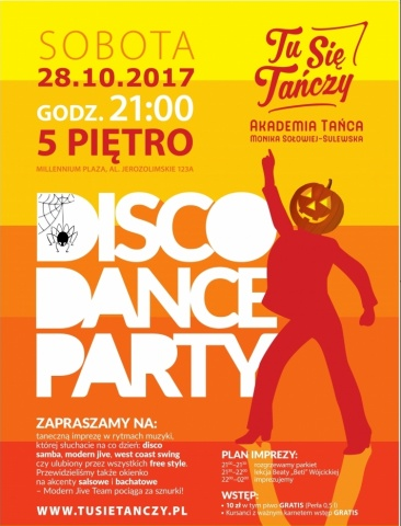 Halloween Disco Dance Party 28.10.2017