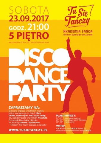 Disco Dance Party 23.09.2017 r.