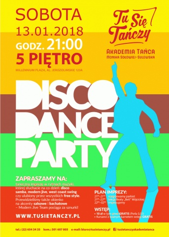 Disco Dance Party 13.01.2018